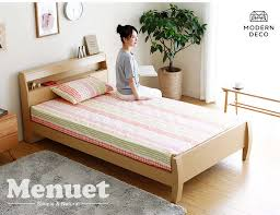 the et japanese wooden bed at bedandbasics sg today