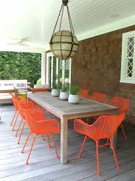 painting our outdoor dining chairs  favorite places  spaces