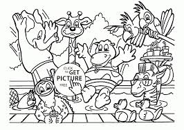 Coloring Pages Zoo Coloring Pages Forschoolers Animals Page Kids