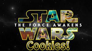 star wars the force awakens cookies