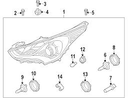parts com® hyundai veloster wiring harness oem parts diagrams 2014 hyundai veloster base l4 1 6 liter gas wiring harness