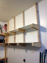 diy wood garage shelves wood garage shelves shelf brackets bracket plans simple rustic building of wood diy wood garage shelves