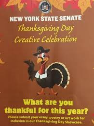 new york state senate sponsors thanksgiving day creative celebration