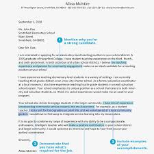 Sample Email To Apply For A Job Teacher Cover Letter Example And Writing Tips