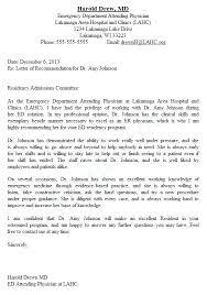 Recommendation Letter Examples Medical School Curriculum Vitae