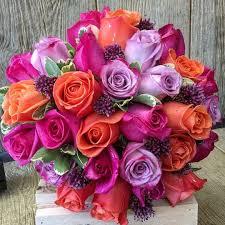 roses and allium