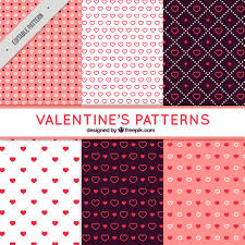 Different Types Of Patterns Classy Fantastic Patterns With Different Types Of Hearts For Valentine's
