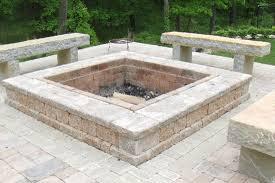 patio designs wallpaper ideas top  brick paver firepit limestone patio tampa