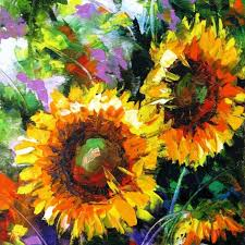 sunflowers oil painting on canvas sunflowers flower wall sunflower painting wall art the beyer foundation