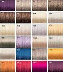 Joico Vero K Pak Hair Color Chart Vero K Pak Chrome Color Swatches Joico Joico Color