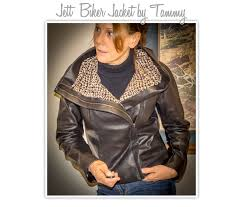 jett biker jacket sewing pattern by tammy and style arc