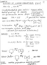 bunch ideas of numerical linear algebra tm for your algebraic linear equations examples of algebraic