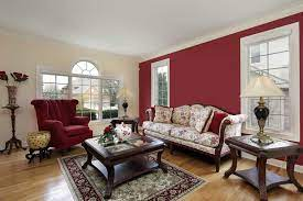 As you start browsing furniture, decorating and wall ideas for your room, think about the space's desired purpose and focus on a few staple items, such as a comfortable sofa and a coffee table, then choose the rest of the accent furniture and wall decor accordingly. 40 Red Living Room Ideas Photos Home Stratosphere