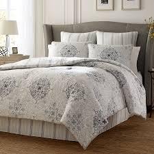 stone cottage valencia graphite comforter duvet set