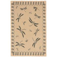 outdoor rug dragonfly in neutral flat woven