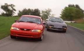 1994 Ford Mustang GT vs. 1994 Chevrolet Camaro Z28 – Comparison ...