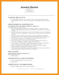 8 9 Entry Level Resume Objective Example Wear2014 Com