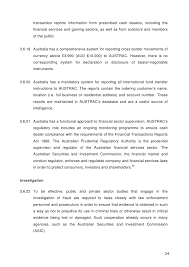 the international fraud and corruption report austrac collects financial 23 25 transaction