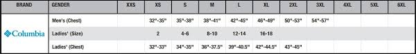Columbia Vest Size Chart Buy Mens Powder Lite Vest Columbia Online At Best Price Tx