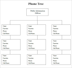 Calling Tree Template Excel Phone Tree Template Apcc2017