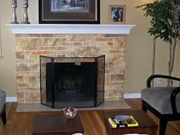 brick fireplace paint color