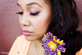 spring summer makeup tutorial pink and orange