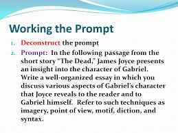 the prose passage essay ppt video online  2 working