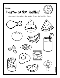 Healthy Food Coloring Pages With Camping Also Brain Foods Kids