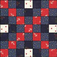 Irish Chain Quilt Pattern: Single, Double and Triple Irish Chain ... & Triple Irish Chain Quilt Block 1 Adamdwight.com