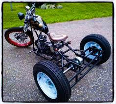 bobber trike this cool bikes the rules hk i kikker 5150 hardknock bobber a trike conversion