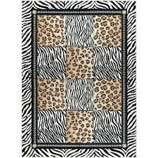 leopard print area rug 5 x 7 medium black and bronze animal furniture rugs canada pr leopard print area rug
