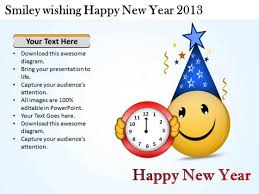 Chart On Happy New Year Smiley Wishing Happy New Year 2013 Flow Chart Creator Online