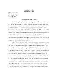 Critical Analysis Film Essay Examples Evaluation Essay Example