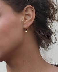Huggie Hoop Earrings Size Chart Huggie Hoop Earring Hoop Earrings Hoop Earring With Charm