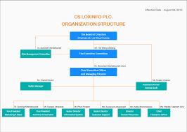 Organization Structure Csl