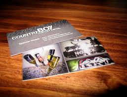 Country Boy <b>Custom Metal Business Cards</b> - Snoack Studios