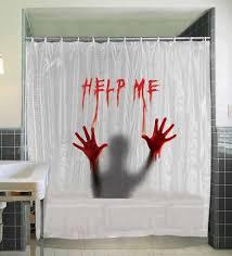 badass shower curtains. Help Me Shower Curtain Bloody Hands Badass Curtains B