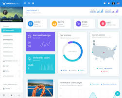 Bootstrap Light Blue Materialpro Bootstrap Material Admin Template Bootstraptaste