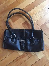 black leather bag banana republic
