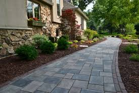 Stone Paver Designs For Walkways Incredible Landscaping Ideas To Transform Your Front Yard