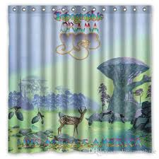 2018 yes band 01 design shower curtain size 180 x 180 cm custom waterproof polyester fabric bath shower curtains from littemanthree 25 13 dhgate com