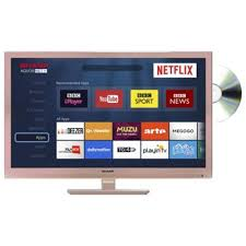 samsung tv dvd combi. sharp lc-24dhg6001kr 24 inch hd ready 720p rose gold led smart tv/dvd samsung tv dvd combi