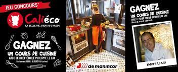 Calieco Jeu Concours Gagnez Un Cours De Cuisine Poêles à Granulés