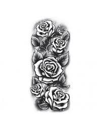 Růže Velké Nalepovací Tetování