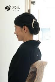 レンタル着物 黒留袖 結婚式 Hairstyles 留袖 ヘアスタイル黒留袖