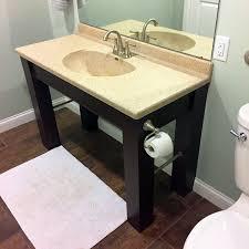 make an ada compliant vanity for your bathroom
