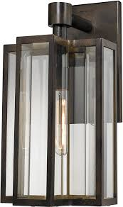 elk 45146 1 bianca contemporary hazelnut bronze outdoor wall light fixture loading zoom