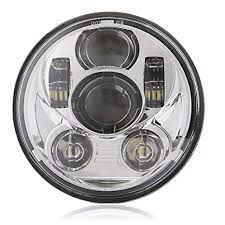 5-3/4 5.75 LED Headlight Round Motorcycle ... - Amazon.com