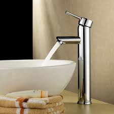 bathroom vessel sinks and faucets. beatifaucet modern single handle deck mount tall spout bathroom vessel sink faucet, chrome finish sinks and faucets o