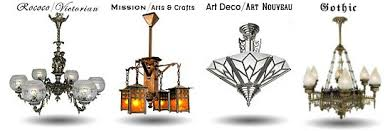 styles of lighting. Art Nouveau, Rococo, And Mission Style Light Fixtures Styles Of Lighting L